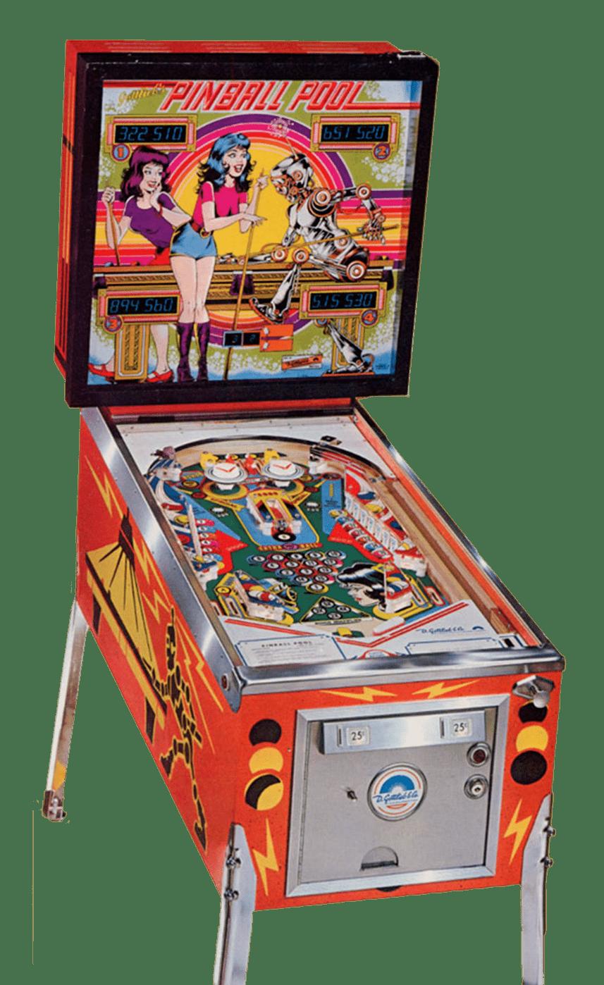 flipper pinball pool